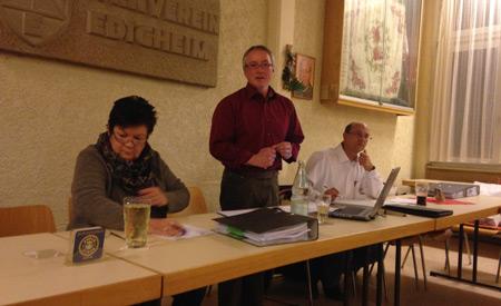 Bericht der Jahreshauptversammlung des Gewerbeverein Oppau-Edigheim e. V.